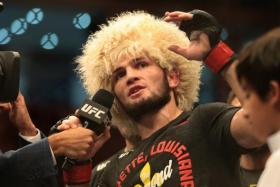 Khabib Nurmagomedov says MMA is not about trash talking, in a thinly veiled jibe at Ireland's Conor McGregor.