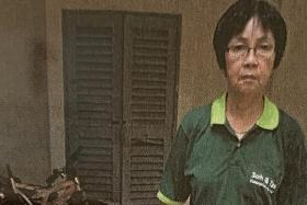 70-year-old cleaner hit by a bag of rubbish thrown from high-rise unit