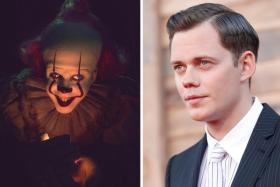 Bill Skarsgard faced various challenges playing Pennywise, including wearing heavy prosthetics.