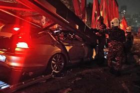 Singaporean man killed in car accident in Kuala Lumpur