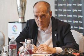 Uefa lacks fairness, says La Liga chief Javier Tebas