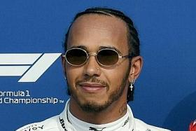 Lewis Hamilton welcomes the challenge from Charles Leclerc