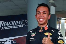 Red Bull's Alex Albon happy to be the surprise package