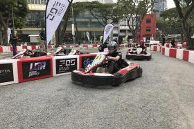 Go-kart race in Orchard