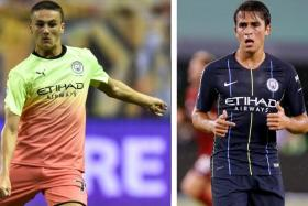 Taylor Harwood-Bellis (left) or Eric Garcia are expected to be feature in the backline for Manchester City's game against Watford.