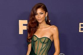Zendaya makes us green with envy at Emmys with showstopper of a gown