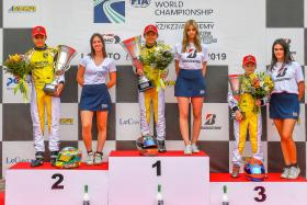 S'pore's Christian Ho, 12, is youngest to win FIA Karting Academy race
