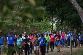 Silver Challenge trails spur seniors to walk more