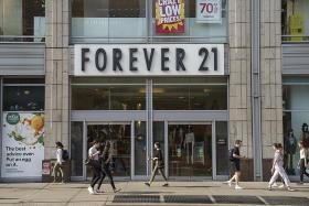 Forever 21 files for bankruptcy, plans to close stores in Asia, Europe