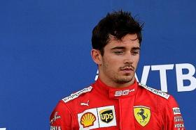 Feud for thought as Ferrari manage fallout between Vettel and Leclerc