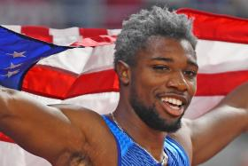 Childhood setbacks toughen up 200m world champion Noah Lyles