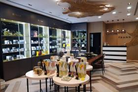 Thann's luxury retail boutique