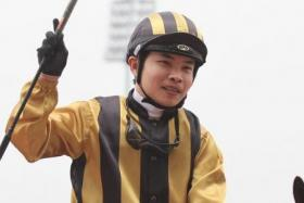 Jockey TH Koh copped the suspension for stopping riding about three strides before the winning post which probably cost his mount Miss Michelle second placing in Race 4 on Friday night.