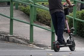 Teens below 16 no longer able to buy e-scooters