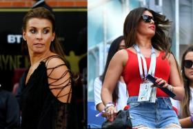 (Left) Coleen Rooney, wife of former Manchester United strike Wayne, is accusing Rebekah Vardy (right), wife of Leicester City striker Jamie, of leaking her private posts on Instagram to The Sun.