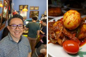 Makansutra: Big flavours at tiny Peranakan cafe Rumah Baba Fred