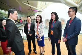 Greater backing for positions overseas