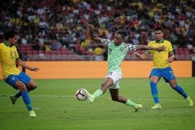Tite praises Brazil despite Nigeria draw extending their winless run