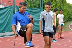 Ex-100m record-holder Muhamad Hosni among 10 coaches given award