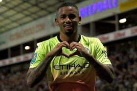 Gabriel Jesus continues his streak of scoring when starting for City