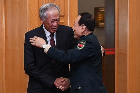 Singapore and China sign upgraded defence pact