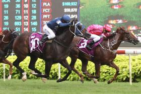 I'm Incredible (No. 9) staving off King Louis (No. 10) to claim the Queen Elizabeth Cup on Sunday.