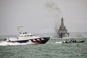 Ferry operators take part in maritime exercise for first time