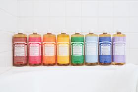 Dr. Bronner's Pure-Castile Liquid Soaps