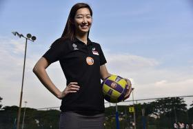 Singapore netballers secure their first M1 Nations Cup 2019 victory