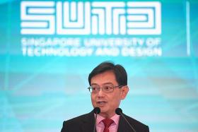 DPM Heng challenges SUTD students to use design to improve Singapore