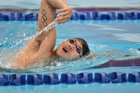 Short-course 100m freestyle record a boost for Joseph Schooling