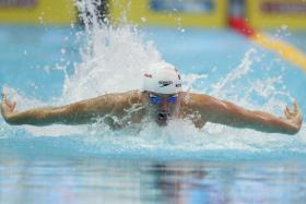 Joseph Schooling will be taking part in his pet event, the 100m butterfly, on Saturday.