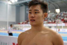 Teong Tzen Wei won a gold and silver at the Hancock Prospecting Australian Short Course Championships.