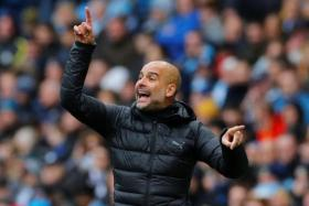 Pep Guardiola has warned that they could be in the relegation positions if they played like they did in the first half against Aston Villa.