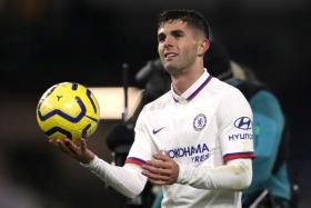 Christian Pulisic had to be reminded to take home the match-ball, following his hat-trick against Burnley.