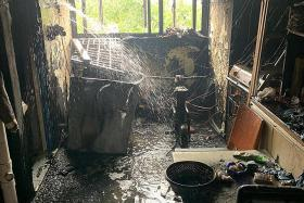 Two taken to hospital over two PMD-related fires