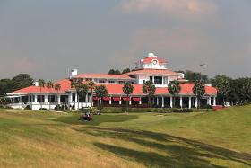 Sentosa Golf Club is on top of the world