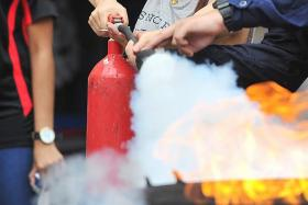 Sharp jump in complaints about fire extinguisher salesmen