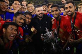 JDT skipper Hariss Harun hungry for more after winning Malaysia Cup