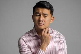 Comedian Ronny Chieng bringing his 'tone issues' to S'pore show