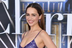 Purple Valentino reigns for Emilia Clarke, ruins Florence Pugh