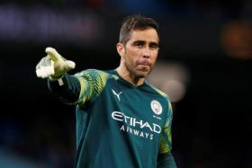 Manchester City goalkeeper Claudio Bravo will stand in for the injured Ederson for the match against Liverpool.