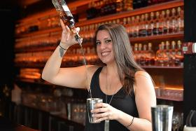 Breast cancer survivor joins bartending contest for a good cause