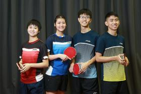 Four debutants to the fore at SEA Games table-tennis competition