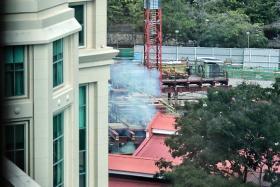 WWII explosive in Jiak Kim Street successfully disposed of