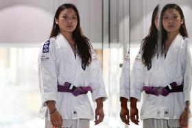 Singapore's ju-jitsu champion Constance Lien fights the enemy within