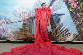 Miss Universe Singapore costume draws flak from designers, netizens
