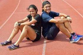 Singapore sprinter Haanee following in dad Hamkah's footsteps
