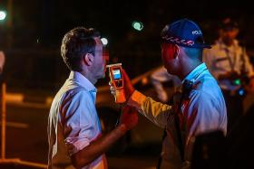 Number of drink-driving accidents down in first nine months