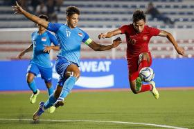 Young Lions' s-final hopes hanging by a thread after loss to Indonesia